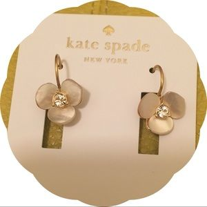 Kate Spade Disco Pansy Earrings